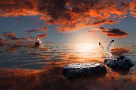 px tutorial learn   create  surreal seascape