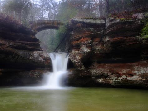 Hocking Hills State Park, an Ohio park located near ...