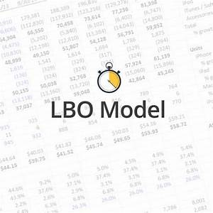 quick lesson simple lbo model wall street prep With simple lbo model template
