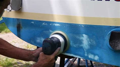 Boat Paint Prep by How To Get Your Boat Ready For Bottom Paint Youtube