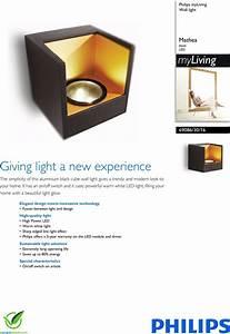 Philips 69086  30  16 690863016 Wall Light User Manual