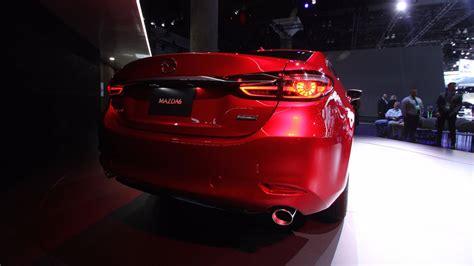 Mazda 6 2018 With A New Turbo Engine Bturboo