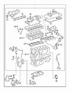 Toyota Prius Engine Cylinder Head Gasket Set  Gasket Kit