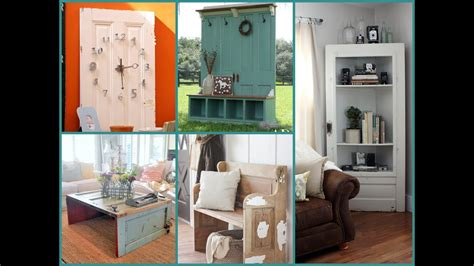Furniture Ideas by Repurposed Furniture Ideas Door Recycling