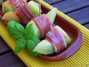 Tapas Melone mit Parmaschinken Rezept