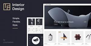 Interior design architecture design wp theme by for Interior decor wordpress theme