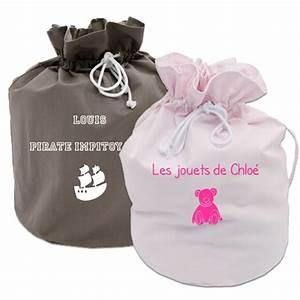Sac à Jouets : sac jouets personnalis une id e de cadeau original amikado ~ Teatrodelosmanantiales.com Idées de Décoration