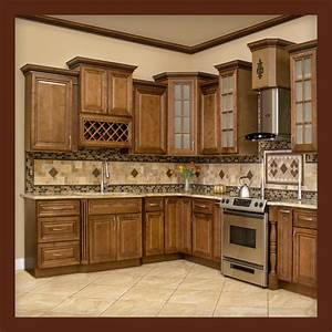 All, Solid, Wood, Kitchen, Cabinets, Geneva, 10x10, Rta