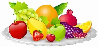 Fruit Fruits Clip Clipart Plate Fall Yopriceville