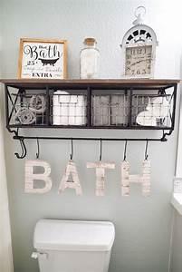 25 best ideas about bathroom wall decor on pinterest With bathroom wall decor