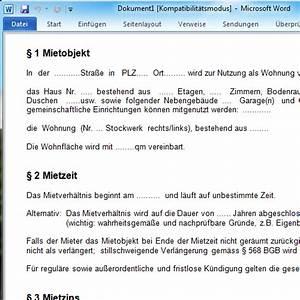 Haus Kündigung Schreiben : vorlage f r mietvertrag die 3 besten downloads chip ~ Lizthompson.info Haus und Dekorationen