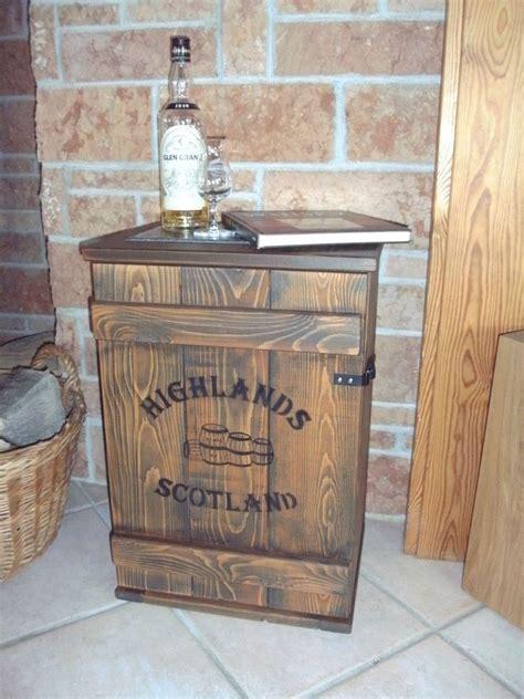 Whisky Zimmer Einrichten by Shabby Frachtkiste Mini Bar Vintage Couchtisch Whiskey