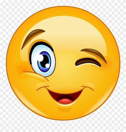 Clipart Wink Emoji Smiley Clip Transparent Emojis