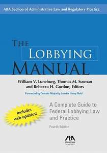 Sell  Buy Or Rent The Lobbying Manual  A Complete Guide To