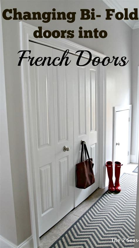 how to turn bi fold doors into doors