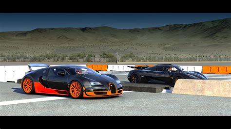 1 Vs Bugatti Veyron Super Sport