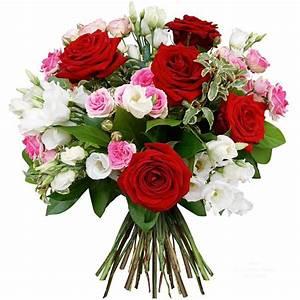 Bouquet De Fleurs : bouquet de roses rouges grenoble ~ Teatrodelosmanantiales.com Idées de Décoration