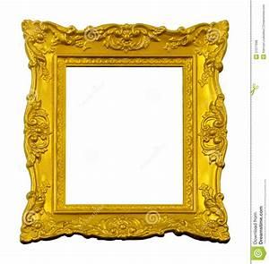 Vintage gold frame stock photo. Image of decoration ...