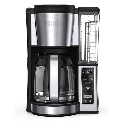 Coffee makers can be set to automatically brew in advance so you always wake up to a fresh cup. Ninja CE251 Intelligent Programmable Brew Home Coffee ...