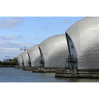 London weather: Thames Barrier shut as coastal surge and