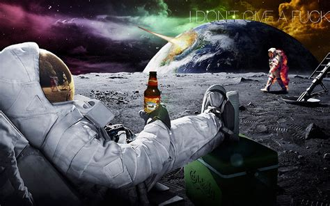 HD Astronaut Drinking Beer (page 4) - Pics about space