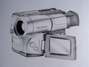 video camera pencil drawing by jpolanco on DeviantArt