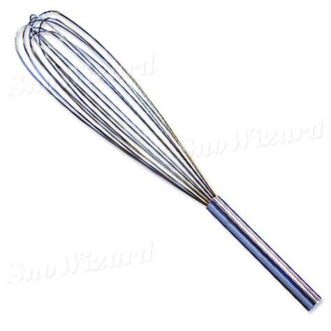 24 quot stainless steel wire whisk snowizard inc