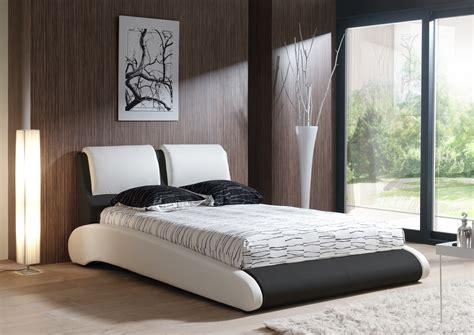 chambre adulte noir free lit adulte design en pu blanc et noir brita with