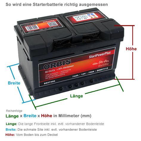 batterie kapazität messen autobatterien g 252 nstig kaufen