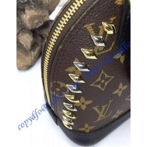 louis vuitton studded monogram canvas alma bb  luxtime dfo handbags
