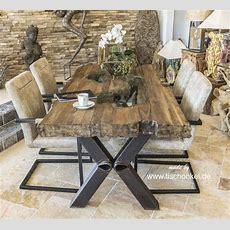 Designer Esstisch Aus Holz  Der Tischonkel