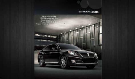 Hyundai Virginia by 2013 Hyundai Equus Brochure Virginia Hyundai Dealer