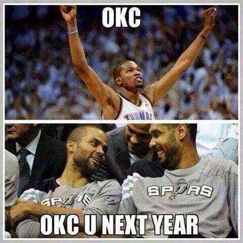 Funny Spurs Memes - oklahoma thunder vs san antonio spurs western conference finals 2014 funny memes nba funny