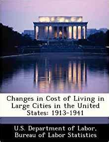 dol bureau of labor statistics changes in cost of living in large cities in the united
