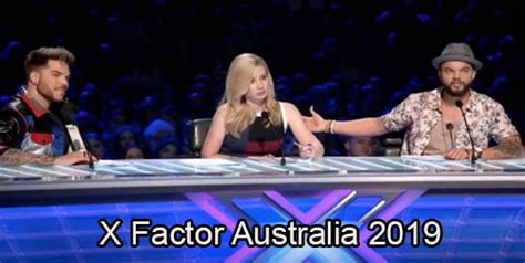 X Factor 2019 Auditions the x factor australia auditions 2019 details