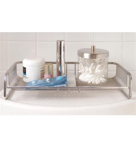 bathroom sink top organizer toilet tank top organizer in vanity and sink accessories