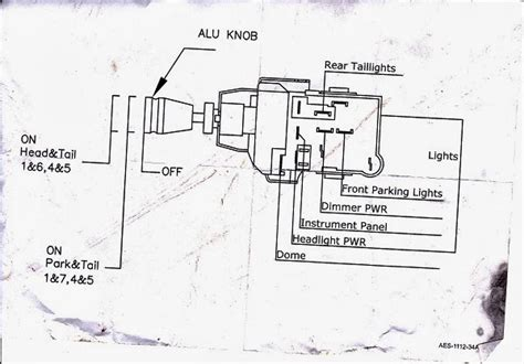 Light Switch Diagram Gm by Ozrodders View Topic Gm Style Headlight Switch Blues