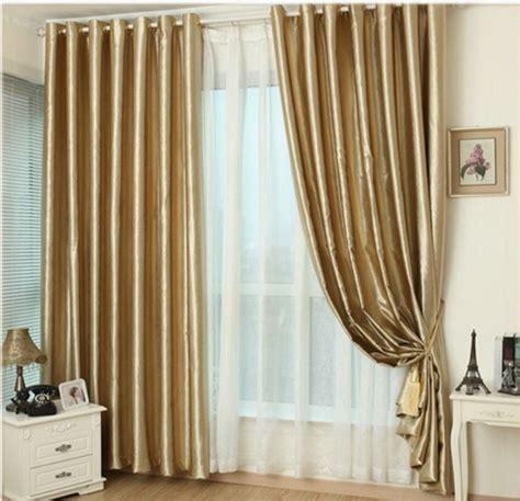 gold draperies aliexpress buy hook eyelet gold curtains window
