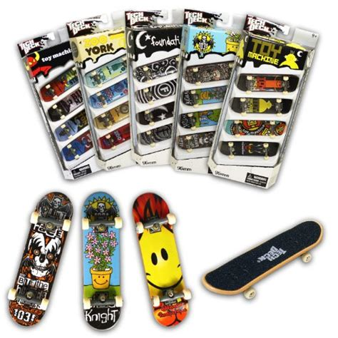 Tech Deck Fingerboards by Tech Deck 96mm Fingerboards 4 Pack Styles Vary New Ebay