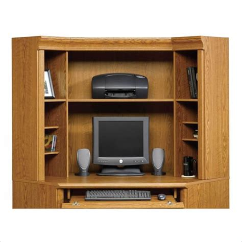 compact corner computer desk corner desk hutch small corner computer desk with hutch