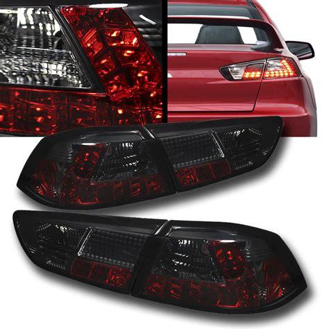 evo x tail lights 08 12 mitsubishi lancer evo x jdm style led tail lights