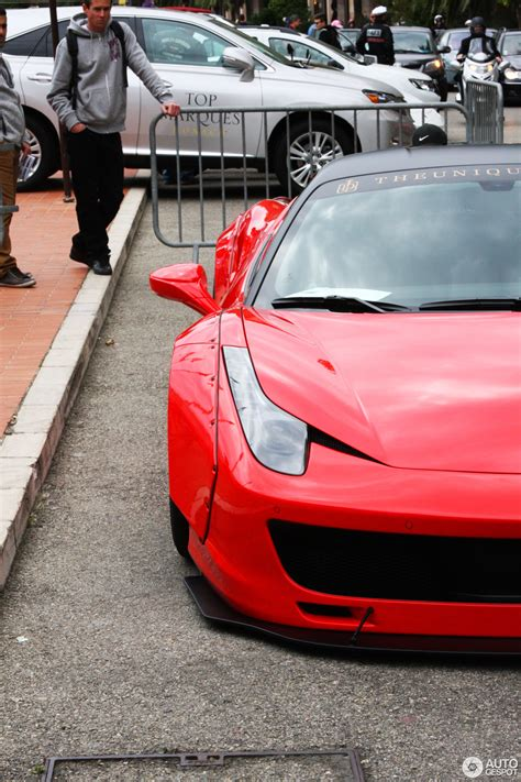 Its basic price is almost £200,000 before you even look at the options list. Ferrari 458 Italia Liberty Walk Widebody - 25 april 2015 - Autogespot