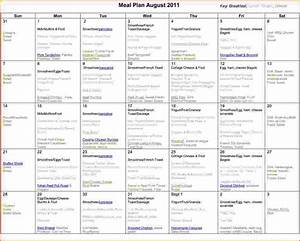 6 monthly meal planner template bookletemplateorg With monthly dinner calendar template