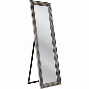 Miroir Sur Pied : miroir sur pied frame argent 180x55cm kare design ~ Teatrodelosmanantiales.com Idées de Décoration