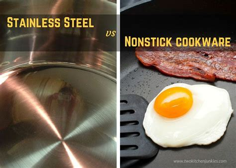 stainless steel cookware  nonstick cookware whats