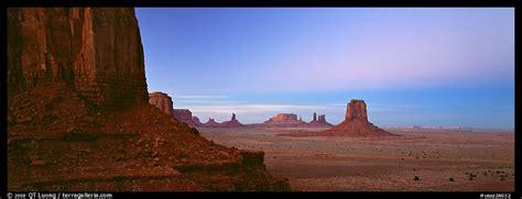 panoramic picturephoto monument valley scenery  dusk