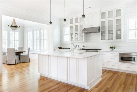 pure white sherwin williams cabinets coastal farmhouse home bunch interior design 337 | Heart Pine flooring Kitchen Heart Pine flooring Heart Pine Hardwood floors