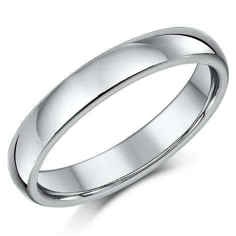 titanium wedding ring band highly polished court shaped solid polished unisex ebay