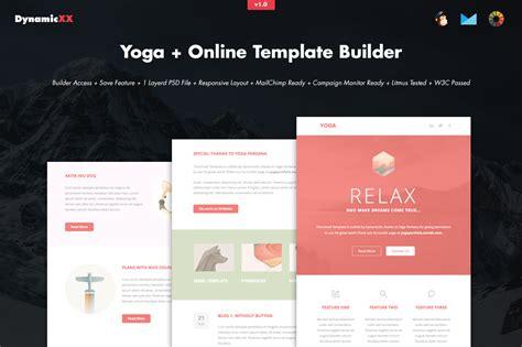 email template builder template builder email templates on creative market