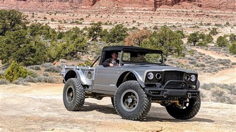 Jeep M715 Concept by 1968 Jeep M715 Gladiator Five Quarter Concept Improb